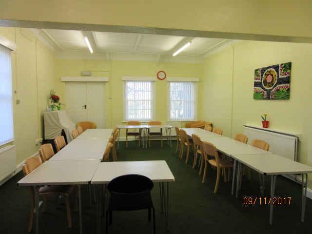 The Supper Room of Greenside Community Centre